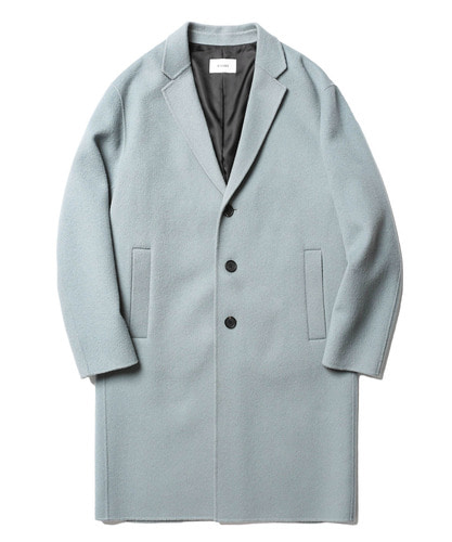 17FW Lydian Handmade Cashmere Coat (Pale Blue)